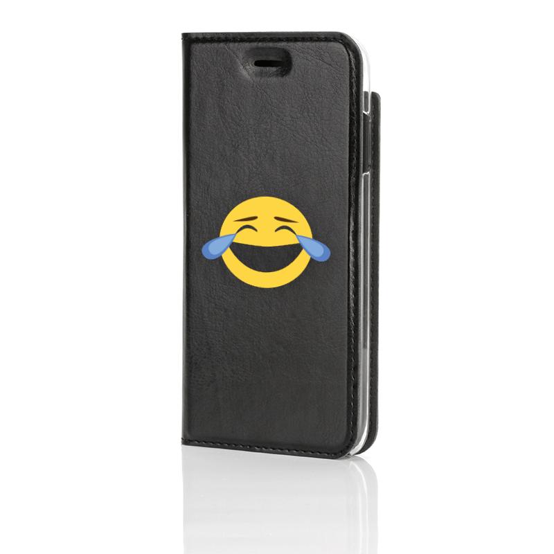 Emoji, LMAO, Musta Book Case edestä kuvattuna
