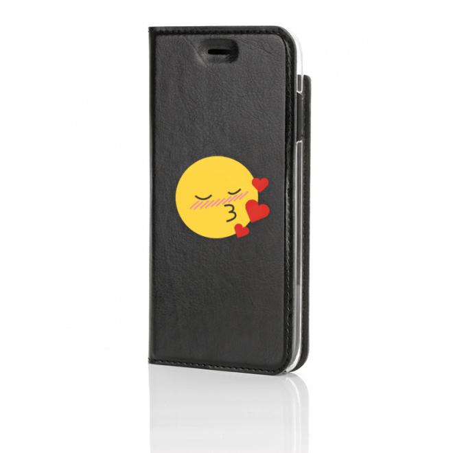 Emoji, In Love, Musta Book Case edestä kuvattuna