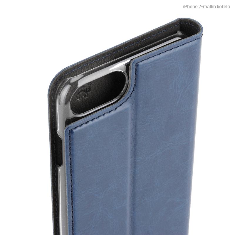 Sininen Book Case, Kamera-aukon kohdalta (iPhone 7)
